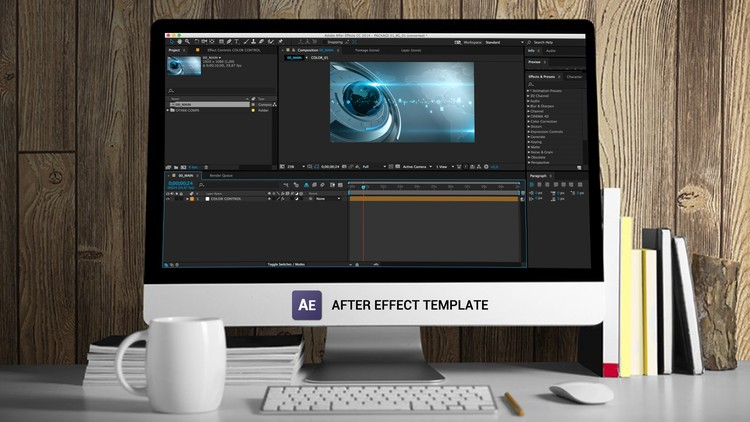 After Effects: Create Publishable Template Using Expressions - Udemy Coupon