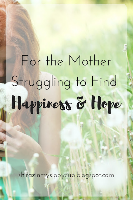 For the Mother Struggling to Find Happiness & Hope. #parenting #mothers #workingmoms