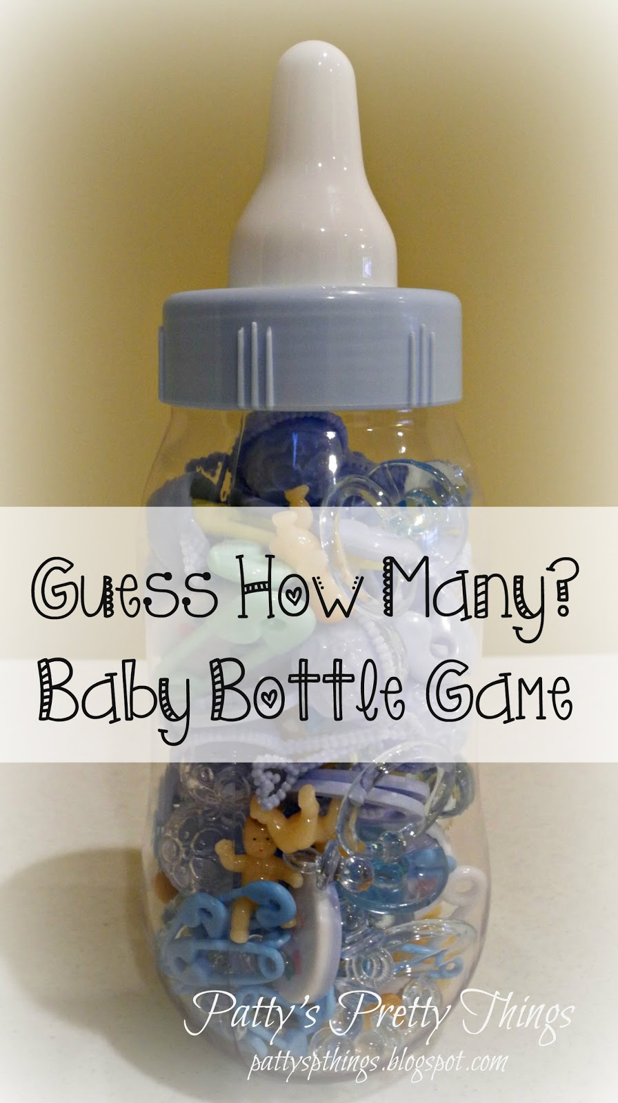 Patty Antles Prettys Guess How Many Baby Bottle Game