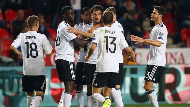 Alemania mantiene paso perfecto en la eliminatoria Europa Rusia 2018 tras vencer a República Checa