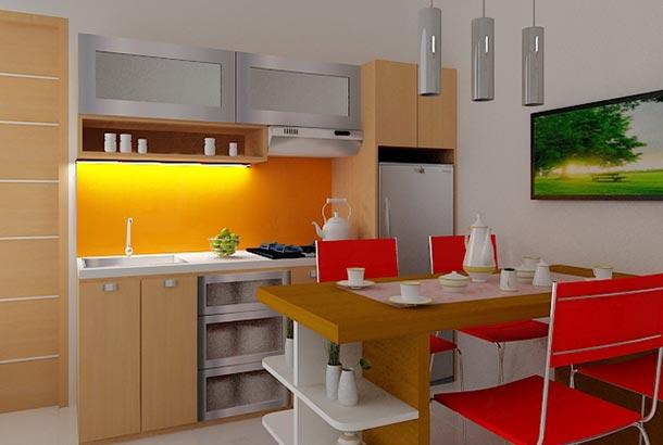49 Gambar Kitchen Set Minimalis Untuk Dapur Kecil Dan Fungsional