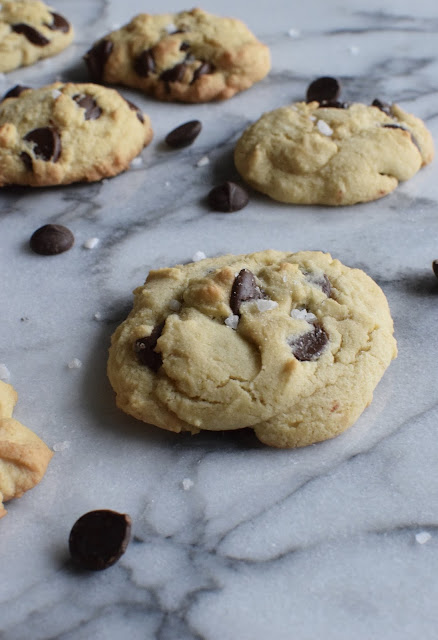 Dark Chocolate Sea Salt Cookies