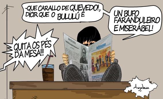 """Reseña da exposición """"Bululú"""" no Espazo Xove de Carballo"""