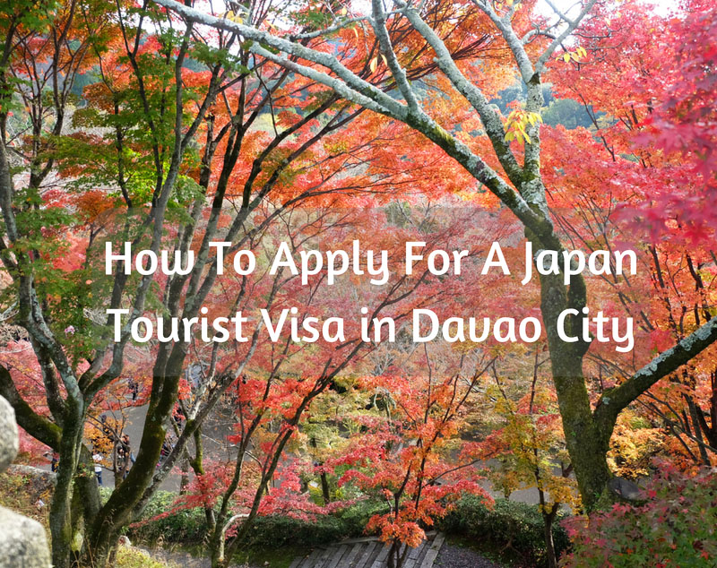 How to Apply for a Japan Tourist Visa in Davao? - Escape Manila