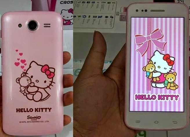 Evercoss A7S Hello Kitty