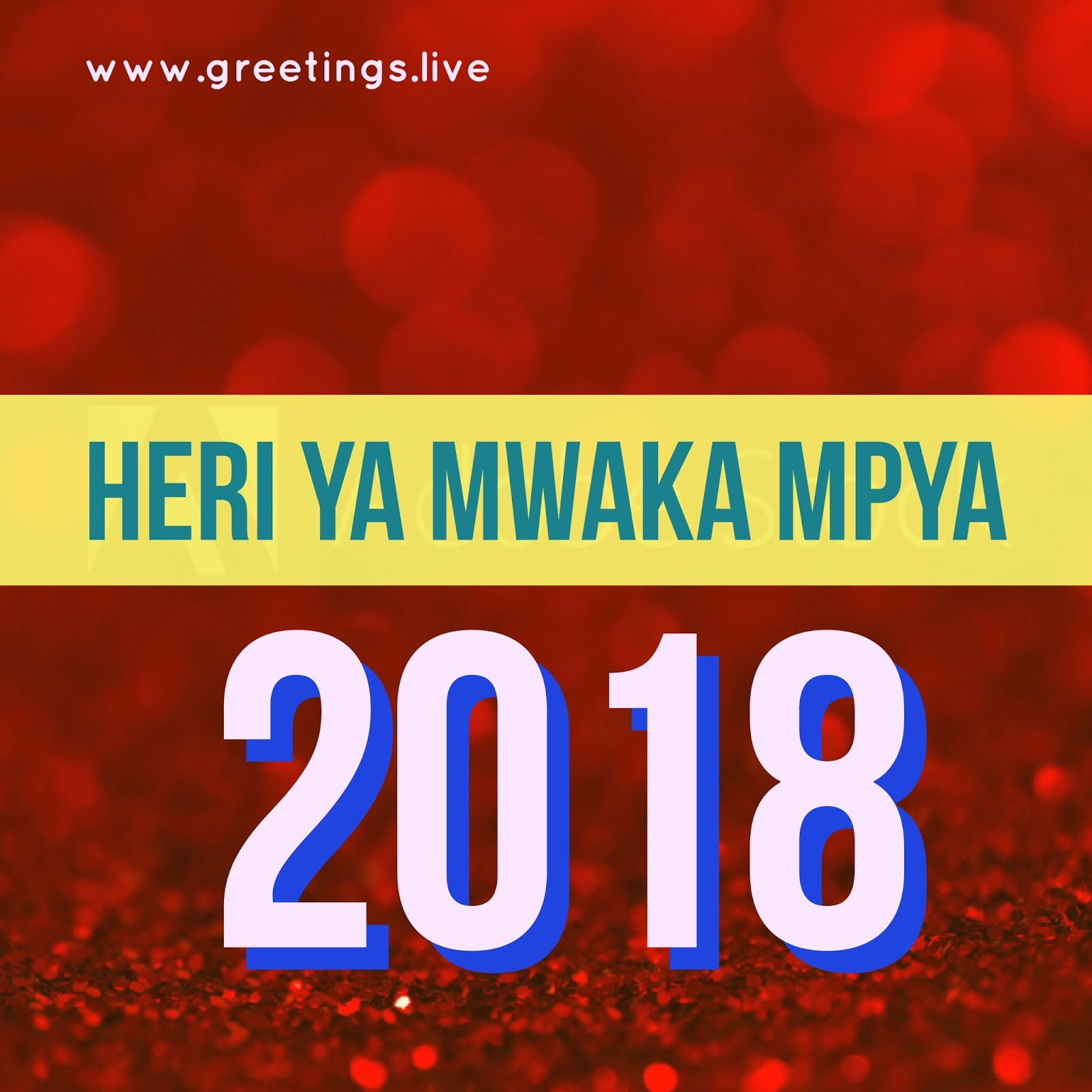 Words from murphy browne heri ya mwaka mpya happy new year monday 1 january 2018 m4hsunfo