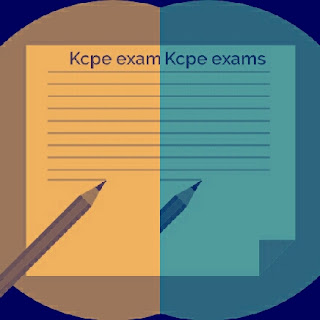 KCPE exams