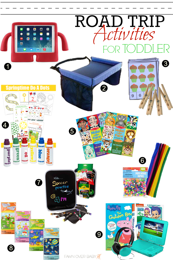Fawn Over Baby Road Trip Activities For Toddlers