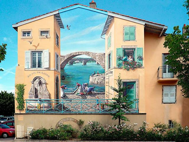gambar lukisan 3d pada bangunan paling keren dan paling menakjubkan di dunia-4