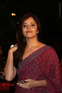 Telugu Television Anchor Anasuya Stills in Saree at Gemini TV Puraskaralu 2016 Event  0047.JPG