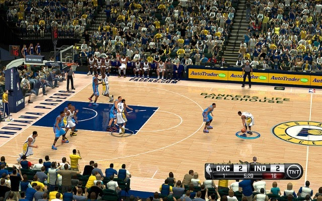 Pacers HD Court | NBA 2K14 PC Mod