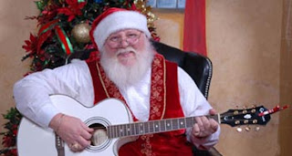 Singing Santa at The Inn at Christmas Place