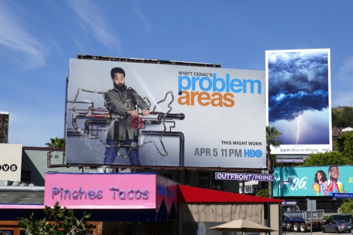 Wyatt Cenac Problem Areas season 2 billboard