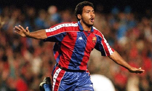 Players wore No.10 in FC Barcelona - Romario