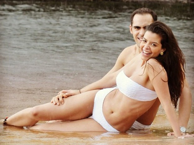 Gabriela Tarkanyi esposa de Pastor Maldonado