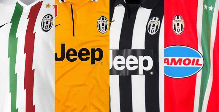 Juventus new holland strip