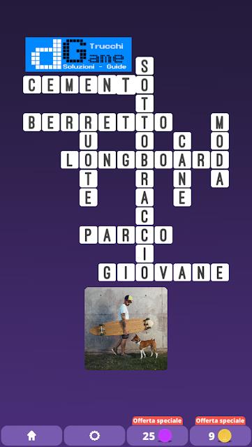 Soluzioni One Clue Crossword livello 26 schemi 5 (Cruciverba illustrato)  | Parole e foto