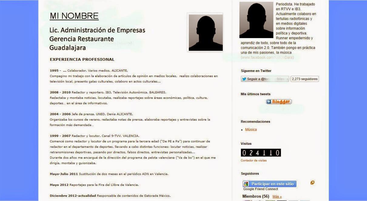 Lujoso Redactores De Curriculum Vitae Opiniones Viñeta - Ejemplo De ...
