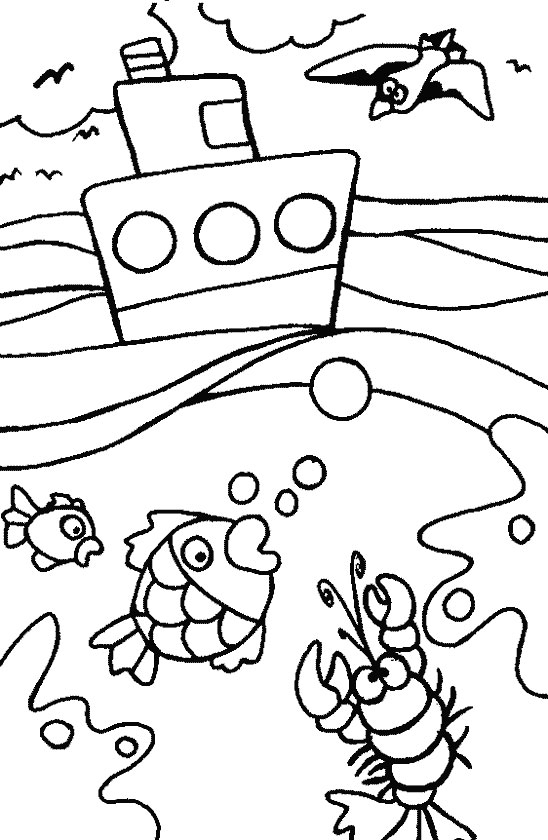 summer coloring pages for children - photo#28