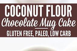 Low Carb Coconut Flour Chocolate Mug Cake