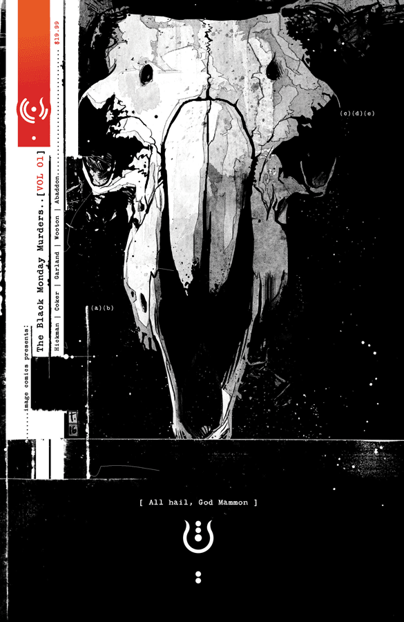The Black Monday Murders V. 1