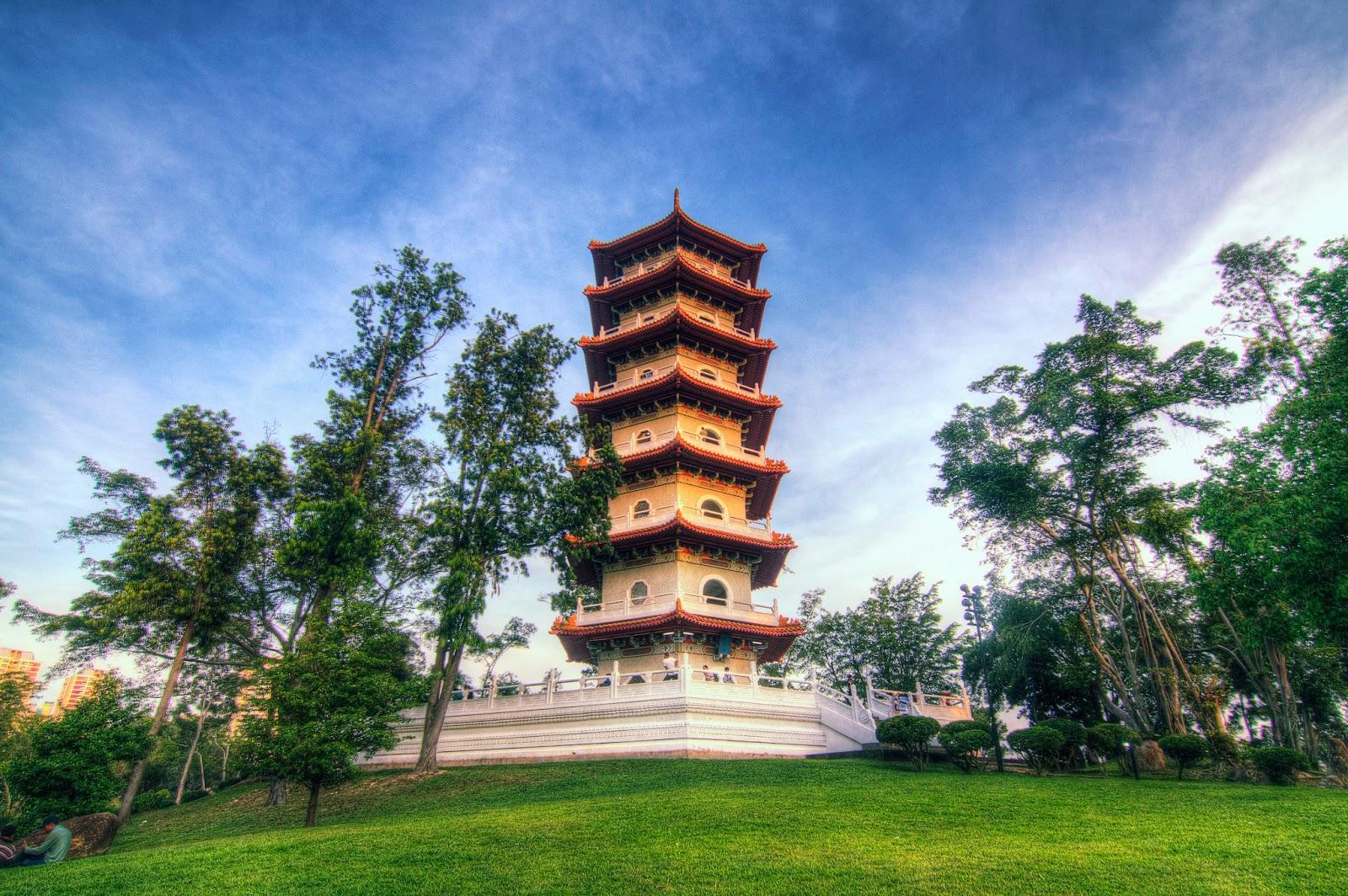 Chinese Pagoda Singapore