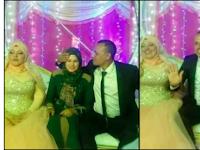 Alamak! Di Pernikahan Suaminya dengan Istri Muda, Istri Pertama Ikut Duduk di Pelaminan, Begini Ekspresi Wajahnya