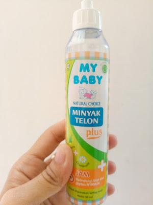 tentang my baby minyak telon plus