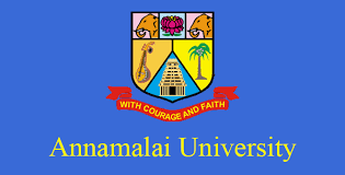 Annamalai University Recruitment 2017