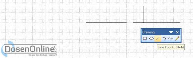 Langkah mudah membuat Data Storage DAD dengan Visio 2007
