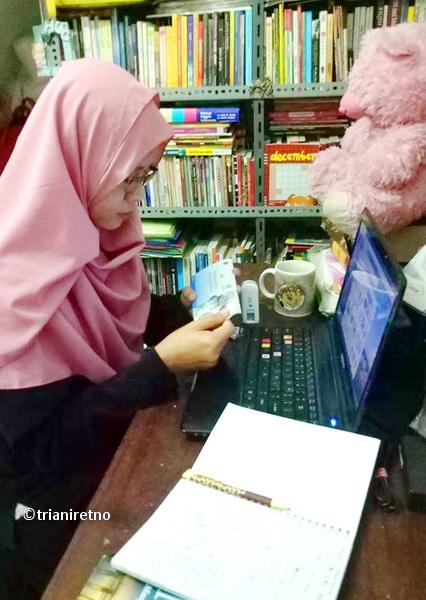 Resolusi 2018, kelas menulis online
