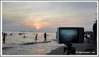 Berburu Sunrise di Pantai Ngebum Kaliwungu Kendal