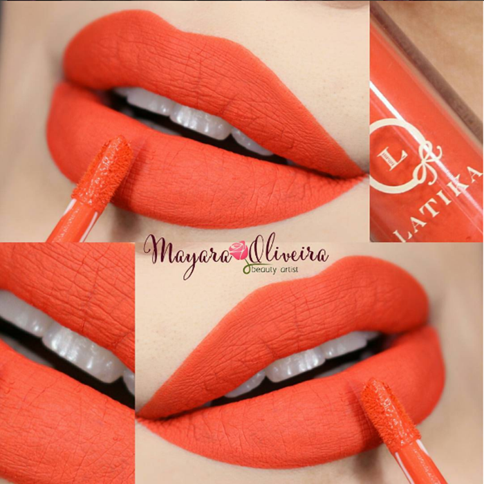 Lip matte Latika Cosmetics número 10