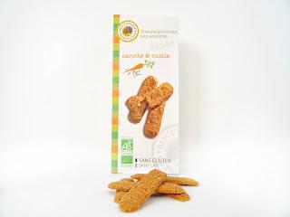 Biscuits gourmets aux amandes carotte & cumin - Biscuiterie de Provence