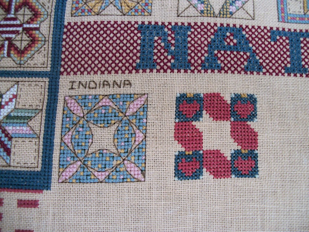 Country Stitcher American Flag Quilt Sampler Update