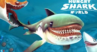 Download Game Hungry Shark World v1.2.4 Mod