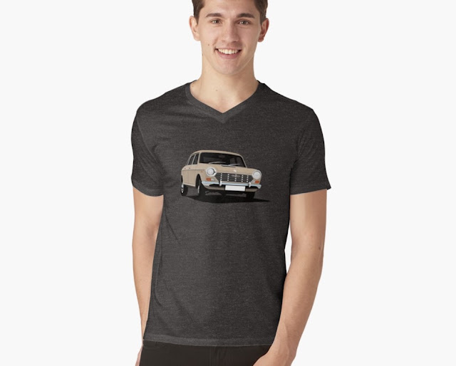 Austin 1800 | 2200 beige t-shirt