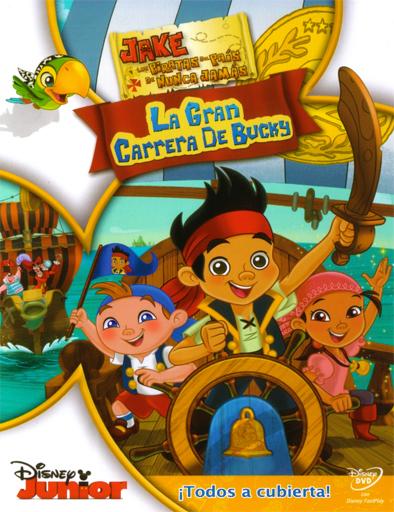 ver Jake y los piratas del País de Nunca Jamás: La gran carrera de Bucky (2012) Online