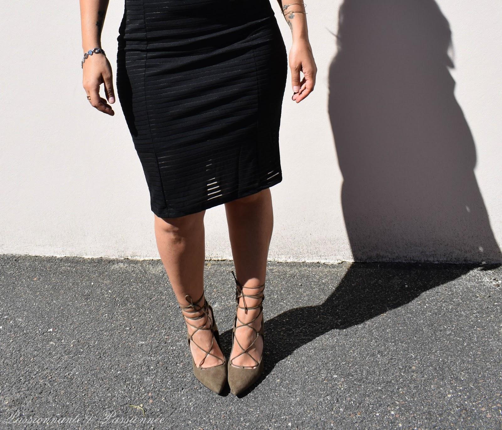 robe fourreau pour les rondes