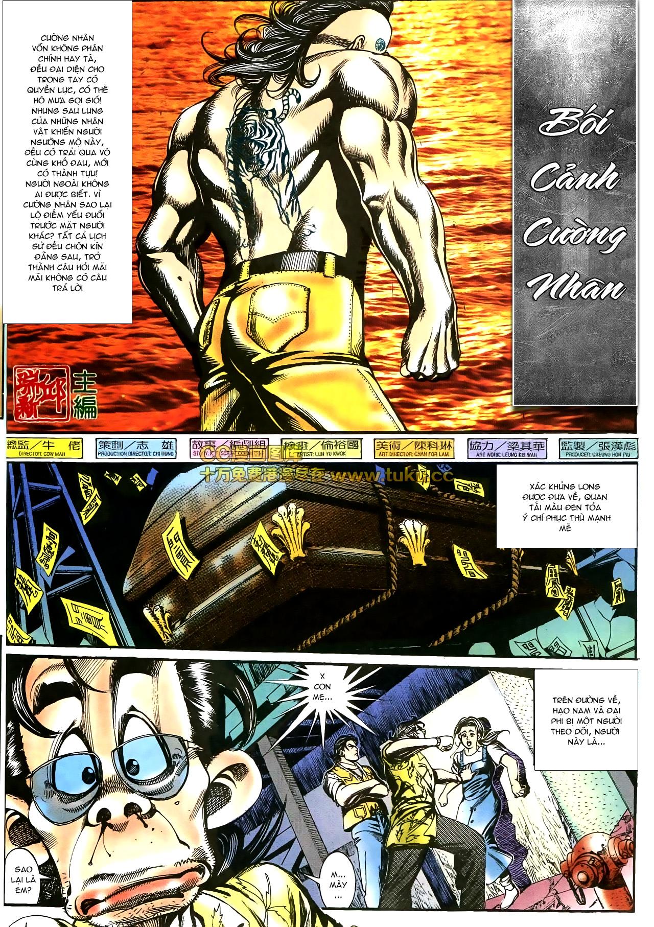 Người Trong Giang Hồ chapter 178: bối cảnh quạ đen trang 2