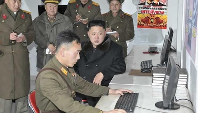Hackers norte-coreanos roubaram documentos militares da Coreia do Sul.