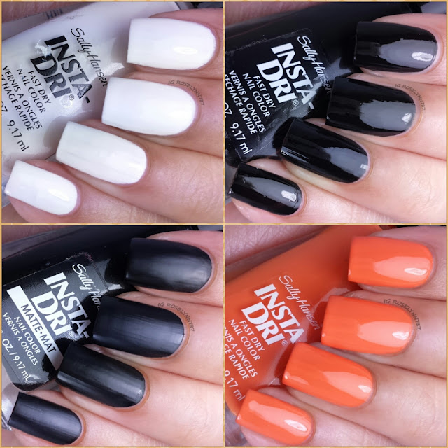 Sally Hansen Halloween 2014 Limited Edition Costume-ize Your Nails Collection