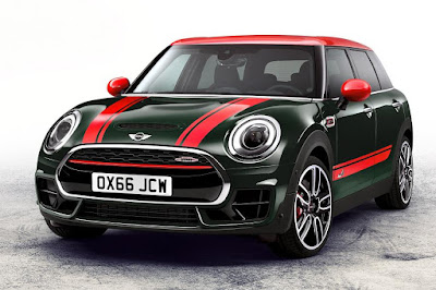 Mini John Cooper Works Clubman (2017) Front Side