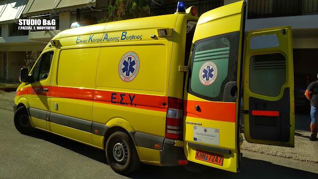 Σοβαρός τραυματισμός στο Πανόραμα Αργολίδας