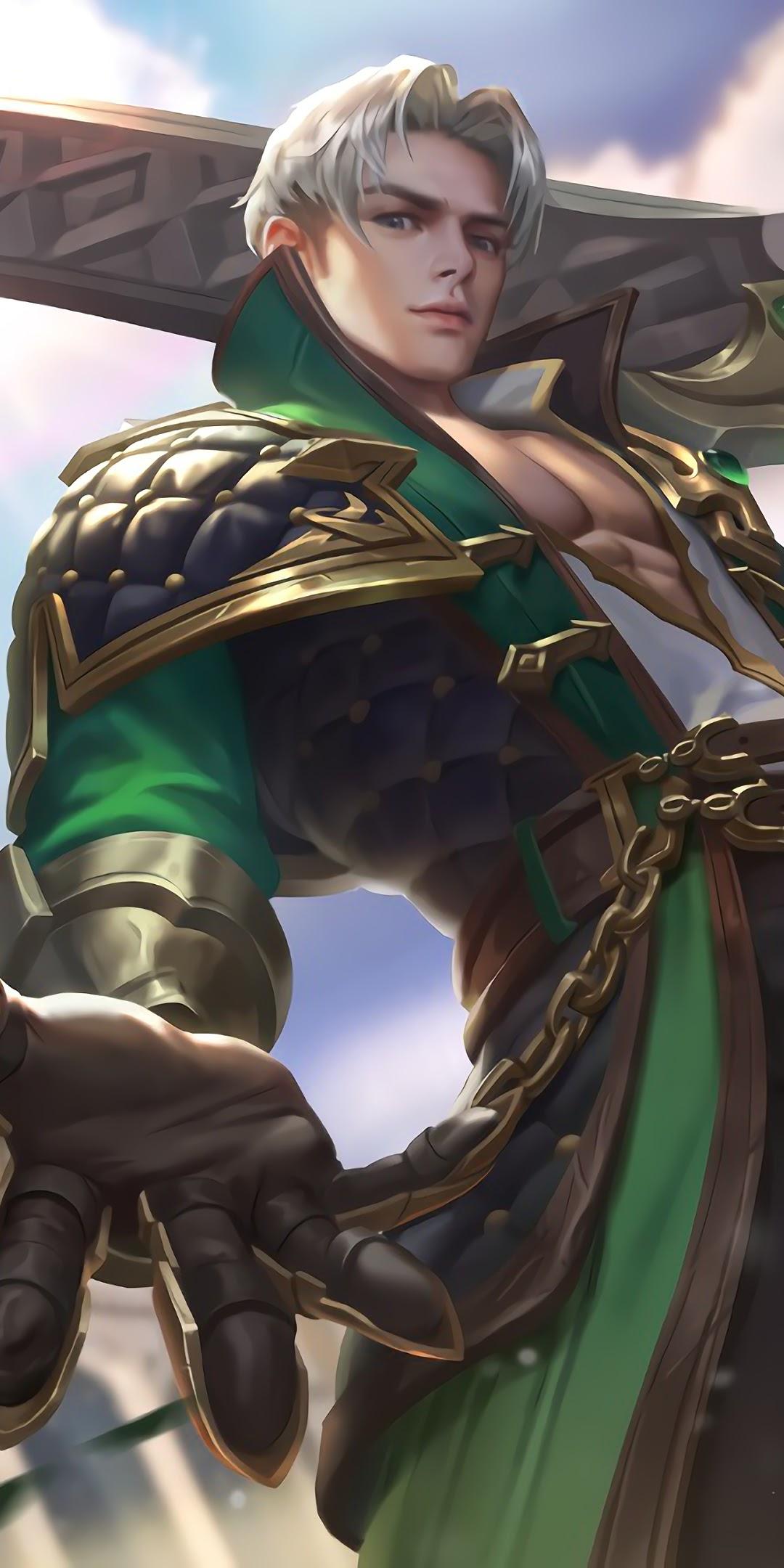 Alucard Lone Hero Skin Mobile Legends 4k Wallpaper 173