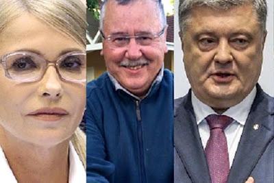 Порошенко завис, Тимошенко і Гриценко підтягнулися - свіжий рейтинг