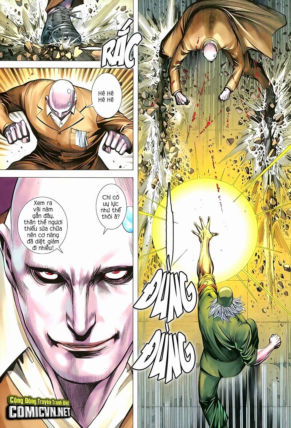 Đại Quân Phiệt chap 34: bình an là người cứu thế trang 30