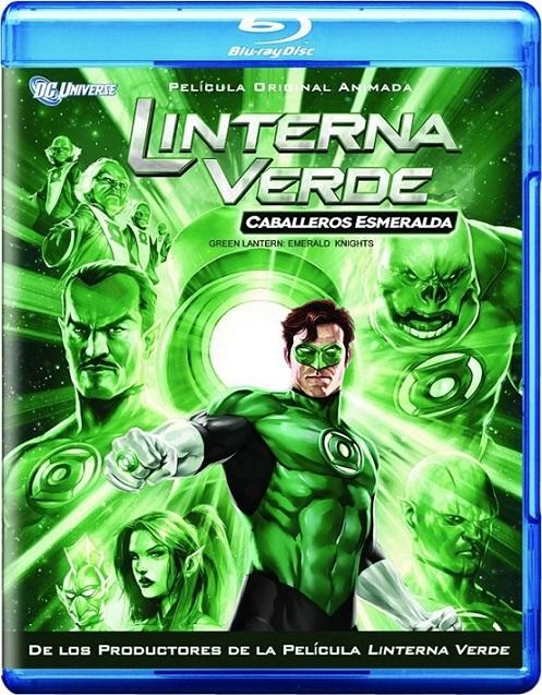 Green Lantern: Emerald Knights (Linterna Verde: Caballeros Esmeralda) (2011) 720p y 1080p BDRip mkv Dual Audio AC3 5.1 ch