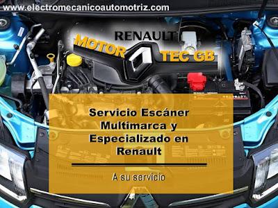 Escaner Automotriz Renault