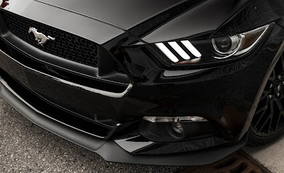Ford Mustang GT front headlight Hd picture